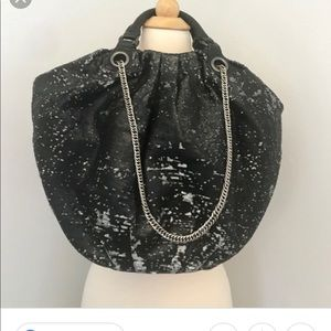 Sequin color changing hobo